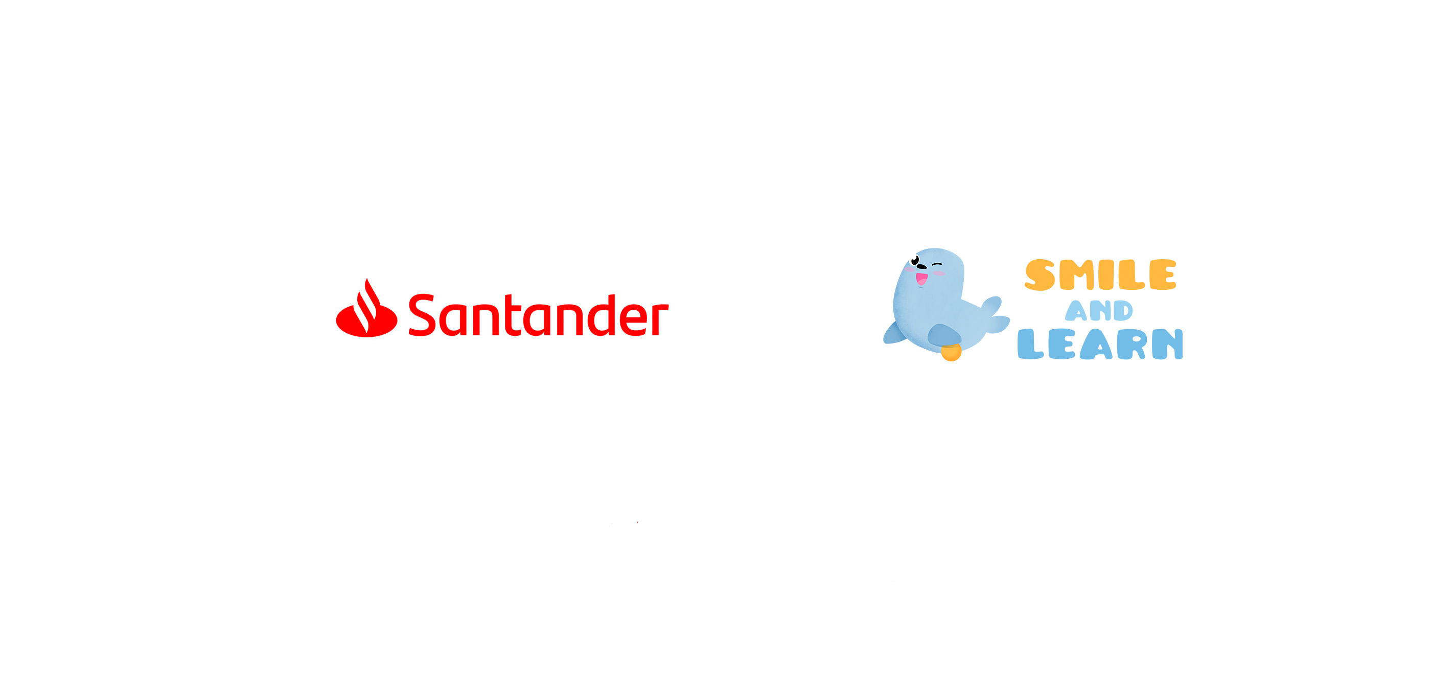 Santander Bank and Smile and Learn