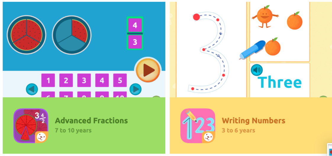 New activities in Smile and Learn